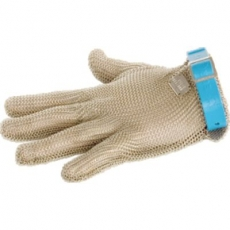 Rekawica stalowa niebieska<br />model: 240004<br />producent: Stalgast