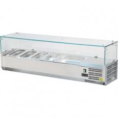 Nadstawa chłodnicza z szybą prostą<br />model: 844540<br />producent: Stalgast