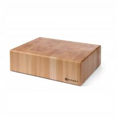 Blat drewniany kloca masarskiego<br />model: 505649<br />producent: Hendi