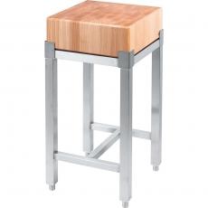 Kloc masarski z płytą drewnianą<br />model: 684511<br />producent: Stalgast
