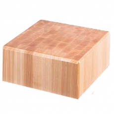 Blat drewniany do kloca masarskiego<br />model: 684415<br />producent: Stalgast