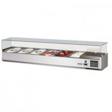 Nadstawa chłodnicza przeszklona NCH-3160<br />model: 00010898<br />producent: Redfox