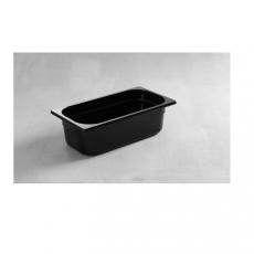 Pojemnik GN 1/4 gł. 6,5 cm z czarnego poliwęglanu<br />model: 862636<br />producent: Hendi