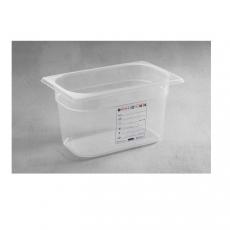 Pojemnik GN 1/4 gł. 6,5 cm z polipropylenu HACCP<br />model: 880388<br />producent: Hendi