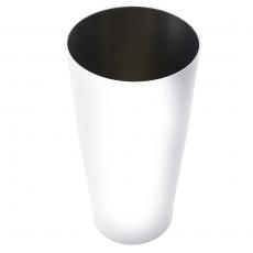 Shaker bostoński obciążony biały<br />model: T-TB04W<br />producent: Tom-Gast