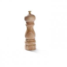 Młynek do pieprzu drewniany jasny<br />model: 469156<br />producent: Hendi