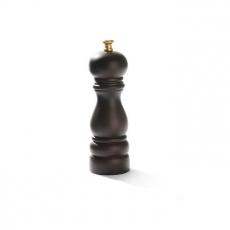 Młynek do soli drewniany brązowy<br />model: 469095<br />producent: Hendi