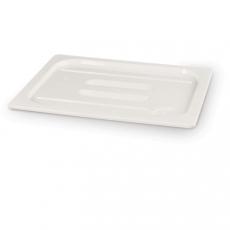 Pokrywka GN 1/4 z białego poliwęglanu<br />model: 862988<br />producent: Hendi