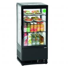 Witryna chłodnicza Mini 78L czarna<br />model: 700277G<br />producent: Bartscher