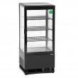 Witryna chłodnicza Mini 78L czarna 700277G