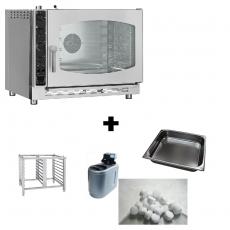 Piec konwekcyjno-parowy KPM-511 z wyposażeniem<br />model: 00010537/P<br />producent: Redfox