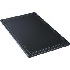 Deska do krojenia czarna GN 1/1<br />model: 341537<br />producent: Stalgast