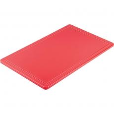 Deska HACCP czerwona GN 1/1<br />model: 341531<br />producent: Stalgast