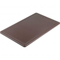 Deska HACCP brązowa GN 1/2<br />model: 341326<br />producent: Stalgast
