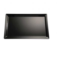 Taca PURE z melaminy czarna GN 1/3<br />model: 83491<br />producent: APS