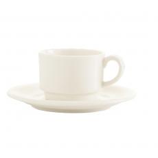 Filiżanka porcelanowa sztaplowana espresso CREMA<br />model: 770719<br />producent: Fine Dine