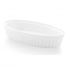 Naczynie do zapiekania owalne porcelanowe BIANCO<br />model: 770221<br />producent: Fine Dine