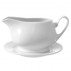 Sosjerka porcelanowa BIANCO<br />model: 799185<br />producent: Fine Dine