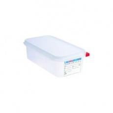 Pojemnik GN 1/3 gł. 15 cm z polipropylenu biały<br />model: 163155<br />producent: Araven