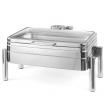 Podgrzewacz stołowy indukcyjny GN 1/1 ze szklaną pokrywą DE LUXE 473108