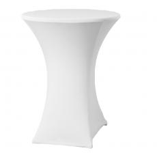 Pokrowiec na stół koktajlowy Basic biały<br />model: 023481<br />producent: Fine Dine