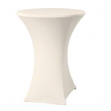 Pokrowiec na stół koktajlowy Basic kremowy<br />model: 023491<br />producent: Fine Dine