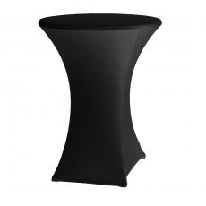 Pokrowiec na stół koktajlowy Basic czarny<br />model: 023495<br />producent: Fine Dine