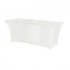 Pokrowiec na stół prostokątny SYMPOSIUM biały<br />model: 900661<br />producent: Fine Dine