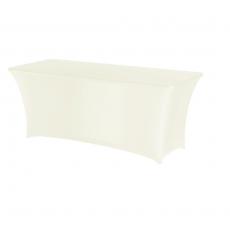 Pokrowiec na stół prostokątny SYMPOSIUM kremowy<br />model: 900602<br />producent: Fine Dine