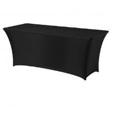 Pokrowiec na stół prostokątny SYMPOSIUM czarny<br />model: 900618<br />producent: Fine Dine