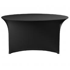 Pokrowiec na stół okrągły SYMPOSIUM czarny<br />model: 900818<br />producent: Fine Dine