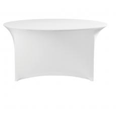 Pokrowiec na stół okrągły SYMPOSIUM biały<br />model: 900831<br />producent: Fine Dine