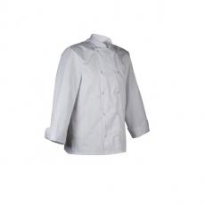 Bluza kucharska Melbourne biała długi rękaw XL<br />model: U-ME-WLS-XL<br />producent: Robur