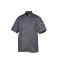 Bluza kucharska Nero antracyt krótki rękaw S<br />model: U-NE-GTS-S<br />producent: Robur