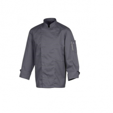 Bluza kucharska Nero antracyt długi rękaw XL<br />model: U-NE-ALS-XL<br />producent: Robur