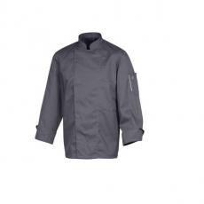 Bluza kucharska Nero antracyt długi rękaw XXL<br />model: U-NE-ALS-XXL<br />producent: Robur
