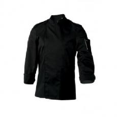 Bluza kucharska Nero czarna długi rękaw S<br />model: U-NE-BLS-S<br />producent: Robur