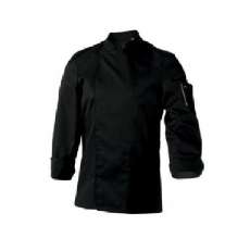Bluza kucharska Nero czarna długi rękaw M<br />model: U-NE-BLS-M<br />producent: Robur
