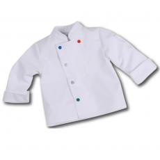 Bluza kucharska dziecięca biała Meloe 6-8 lat<br />model: U-ML-WLS-6-8<br />producent: Robur