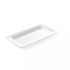 Taca GN 1/4 z melaminy biała<br />model: 566046<br />producent: Hendi