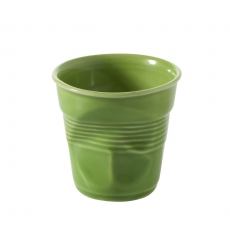 Kubek porcelanowy limonkowy FROISSES<br />model: 640645<br />producent: Revol