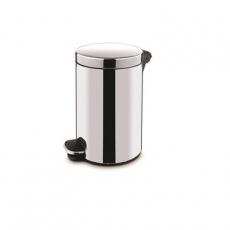 Kosz na śmieci z pokrywką<br />model: 068202<br />producent: Stalgast