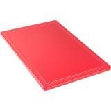 Deska z polipropylenu HACCP czerwona 341631