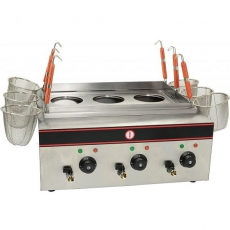 Makaroniarka elektryczna nastawna<br />model: 500010002<br />producent: Soda Pluss