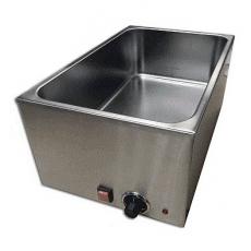 Bemar elektryczny GN 1/1 150 mm bez kranika<br />model: 010010001<br />producent: Soda Pluss