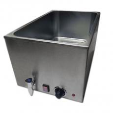 Bemar elektryczny GN 1/1 150 mm z kranikiem<br />model: 010010002<br />producent: Soda Pluss