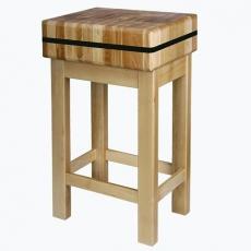 Kloc masarski drewniany 40x40x15 cm<br />model: 140014040<br />producent: Soda Pluss