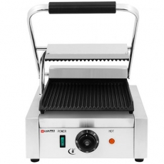 Grill kontaktowy pojedynczy cookPRO<br />model: 5000110034<br />producent: Soda Pluss