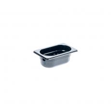 Pojemnik GN 1/9  gł. 6.5 cm z czarnego poliwęglanu<br />model: 159061<br />producent: Stalgast