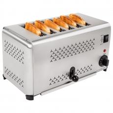 Opiekacz elektryczny - toster RCET-6<br />model: 10010265/W<br />producent: Royal Catering